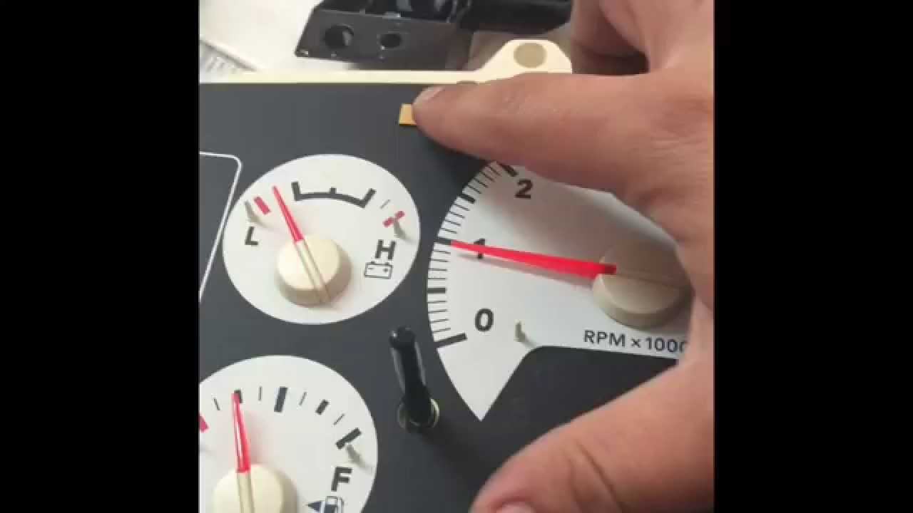 1997 dodge dakota tach wiring diagram 2006 cbr600rr ram rpm tachometer repair youtube