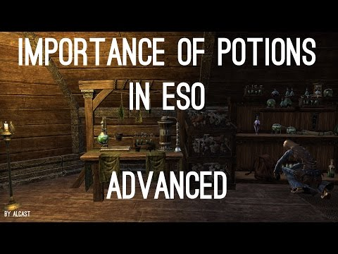 Potions In PvP/PvE (Alchemy) - ESO