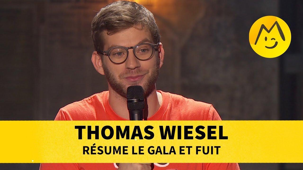 Thomas Wiesel résume le Gala et fuit