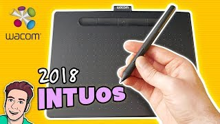 wacom INTUOS Small & Medium REVIEW - 2018