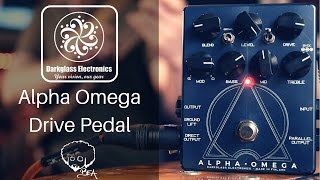 Darkglass Electronics - Alpha Omega Drive Pedal - Karnivool Bass Tones & More!!!