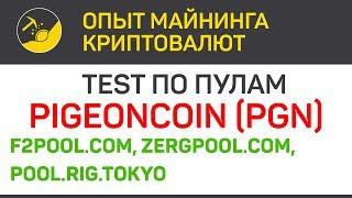 ТЕСТ Pigeoncoin (PGN) на разных пулах (New algo X21S) | Выпуск 300 | BitExpmcc