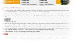 Loans For People On Disability Benefits - Disability Loans