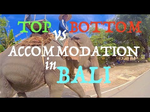 Best vs. Worst Accommodation in Bali, Indonesia