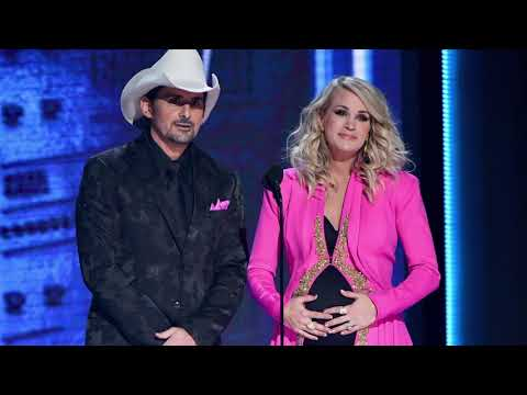 Carrie Underwood + Brad Paisley Did It Again During CMA Awards Monologue!