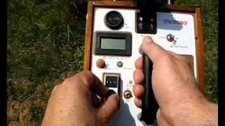 METAL DETECTOR LONG RANGE LOCATOR FG80 FG90 LRL FIELD TEST MINEORO GOLD
