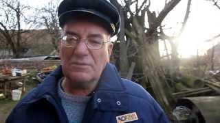 Starý dobrý pošťák Jiří Hynek z Kločné u Říčan - povídání z prosince 2013 (www.SlovackoDNE.cz)