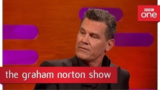 Josh Brolin's tortuous workout  - The Graham Norton Show