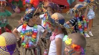 Разноцветное лето Детский праздник в детском саду.