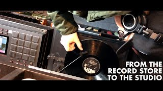 SAMPLING IN A RECORD STORE | MPC Live Beatmaking