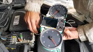 Régler les aiguilles d'un compteur électronique