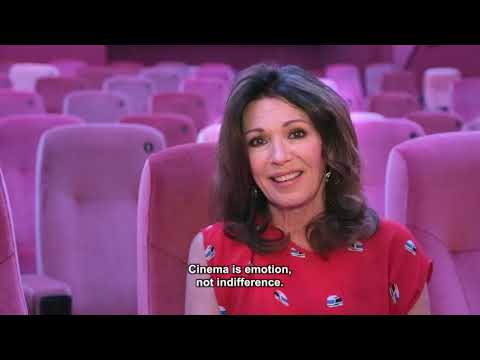 Greeting Iris Berben - European Art Cinema Day