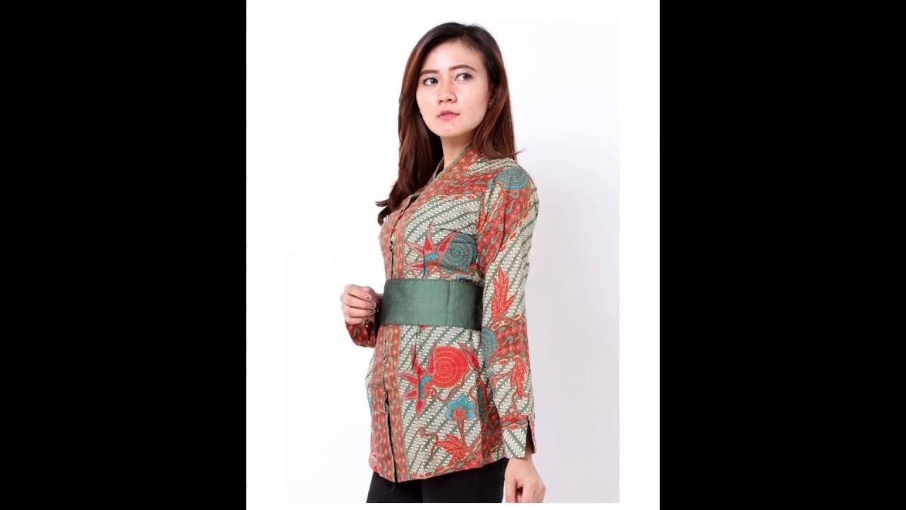 Model Batik Kerja Trend 2017 Batik Kerja Wanita
