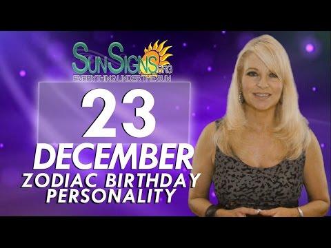 Facts & Trivia - Zodiac Sign Capricorn December 23rd Birthday Horoscope