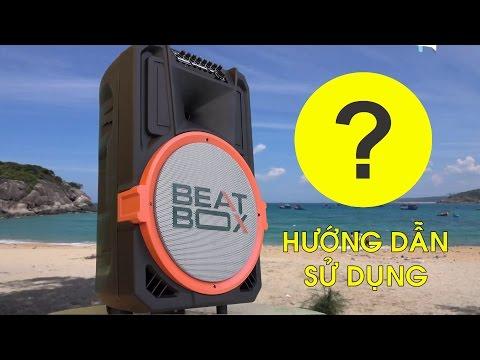 Hướng dẫn sử dụng Karaoke di động Beatbox ACNOS - Soncamedia