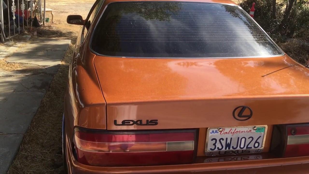 1996 lexus es 300 on 20 s [ 1280 x 720 Pixel ]