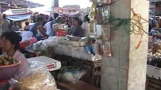 Visit to Sinait Market Ilocos Sur Philippines on 05/01/09
