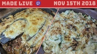 Live Cooking   Low Carb Lasagne   #278