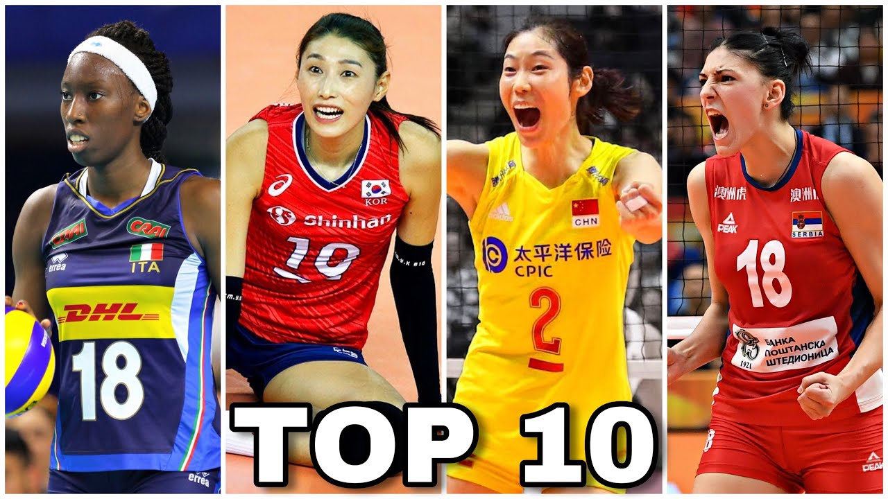 Top 10 Best Women S Volleyball Players In The World 2019 Hd Youtube