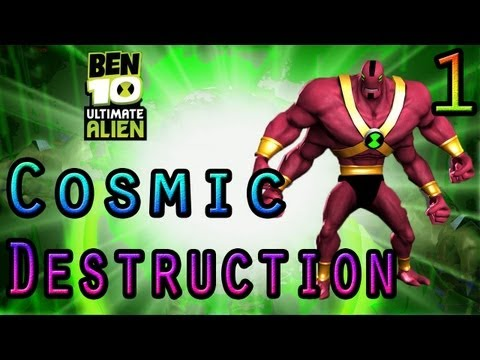 Let's Play: Ben 10 Cosmic Destruction - Parte 1
