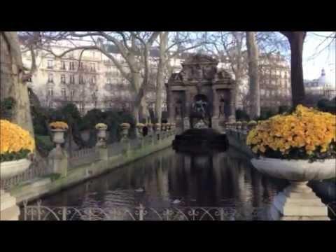 A Walk Around Paris In December
