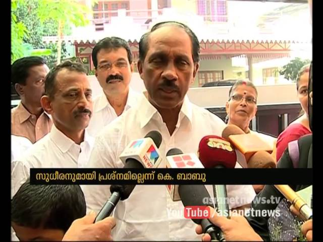 No issues with VM Sudheeran says K Babu