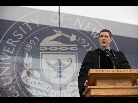 Medal of Honor Recipient Ryan Pitts '13 UNH Commencement Speech