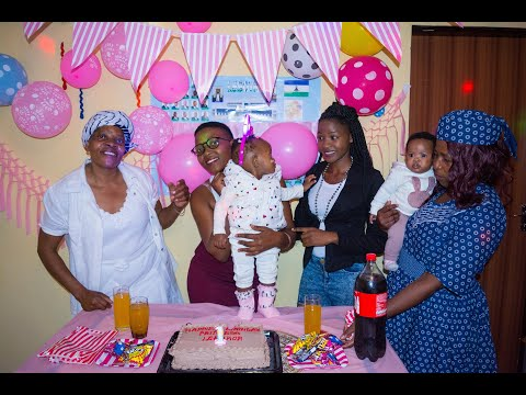 Children's Party 1 Year  Photoshoot and Video