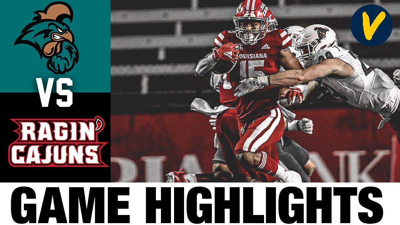 Coastal Carolina vs #21 Louisiana Highlights | Week 7 2020 College Football Highlights