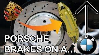 4-Piston BREMBO BRAKES FOR $150! *BMW Upgrade*