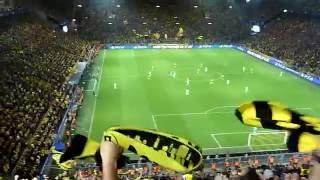 BVB vs. Real Madrid - 27.09.2016 - Westfalenstadion - Tor zum 1 : 1 durch Aubameyang - LIVE !!!