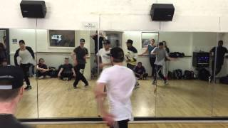 Marko Stamenkovic / B2K - Uh Huh / After class footage!