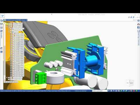Advanced 3D Solid Modeling in Solid Edge ST9