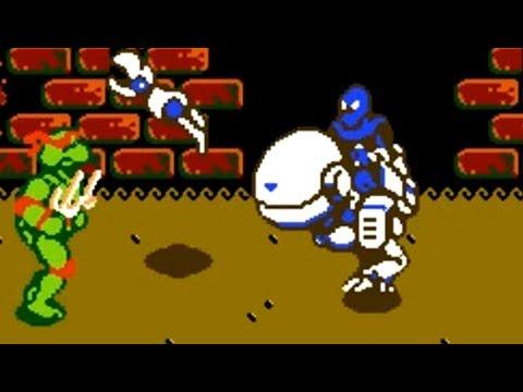 Teenage Mutant Ninja Turtles III: The Manhattan Project (NES) All Bosses (No Hit)