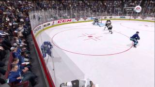 NHL 12 Xbox 360 Gameplay -  Boston Bruins vs. Vancouver Canucks (Also On PS3)