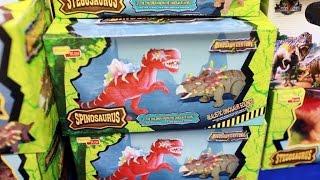 공룡 장난감 스피노사우루스 & 스테고사우루스 플레이 Dinosaur toys Spinosaurus & stegosaurus Play