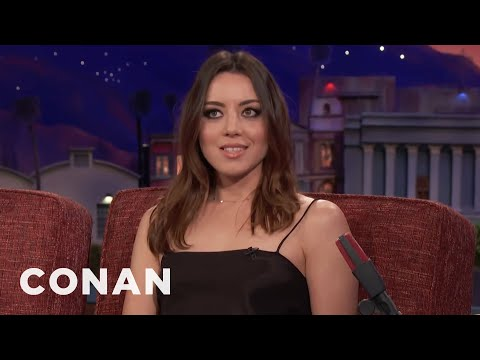 Aubrey Plaza Is More Famous Than Joe Biden  - CONAN on TBS