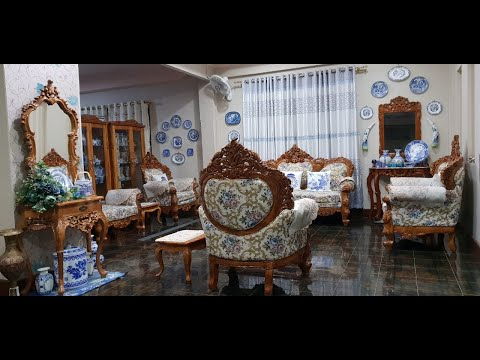 #49 Maharaja sofa 7 Seater with Center Table Royal Couch Best Furniture Designs and Top Ideas