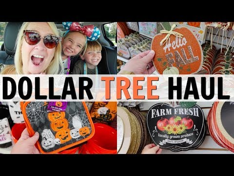 DOLLAR TREE FALL COME SHOP WITH ME & HAUL!