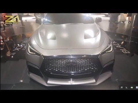 Infiniti Q60 Project Black S Concept 2018 Youtube