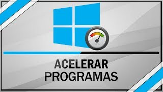 Como acelerar o carregamento de programas no windows 8 / 8.1