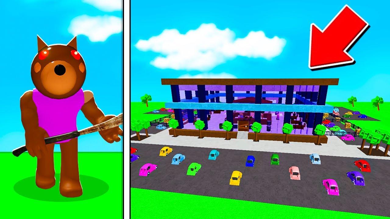 ROBLOX PIGGY DOGGY'S DEALERSHIP MAP! (Piggy Build Mode)