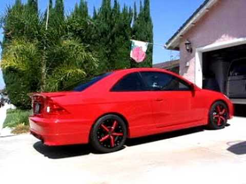 2004 Honda Civic Coupe Ex 2004 Honda Civic EX Megan Racing Exhaust (Sold) - YouTube