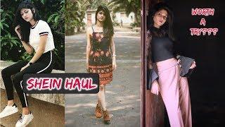 MY FIRST EXPERIENCE WITH SHEIN!! | Shein Haul | Manasi Mau