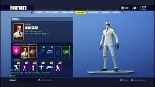 Fortnite Wild Card + Cuff Case + Crowbar + Cashflow (Inventory Update)