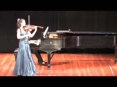 Mendelssohn On Wings of Song for violin and piano Rebecca Yip violin