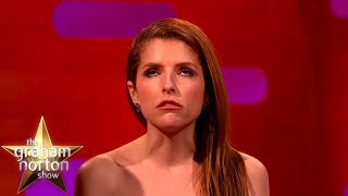 Anna Kendrick's Hilarious British Impression | The Graham Norton Show YouTube Videos