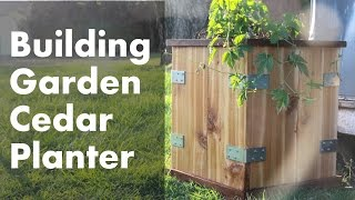 Making A Planter Box For The Garden