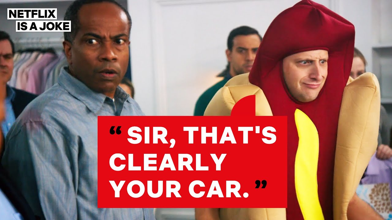 I Think You Should Leave | Hot Dog Car Sketch | Netflix Is A Joke
