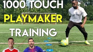 1000 TOUCH TRAINING - FUTURE PROS ONLY - NO EQUIPMENT SOCCER TRAINING